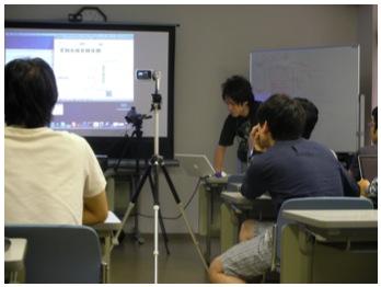学生による発表会の様子